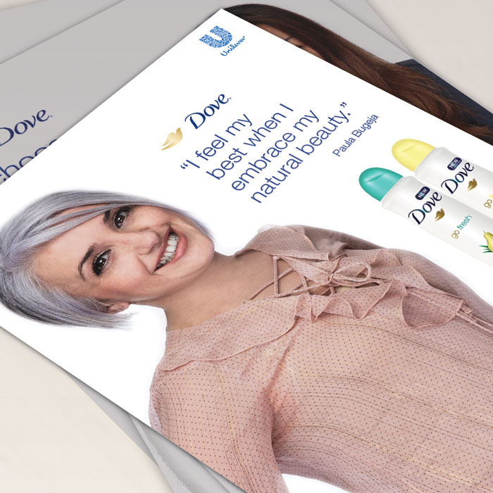 Dove - Localisation of Global Campaign image