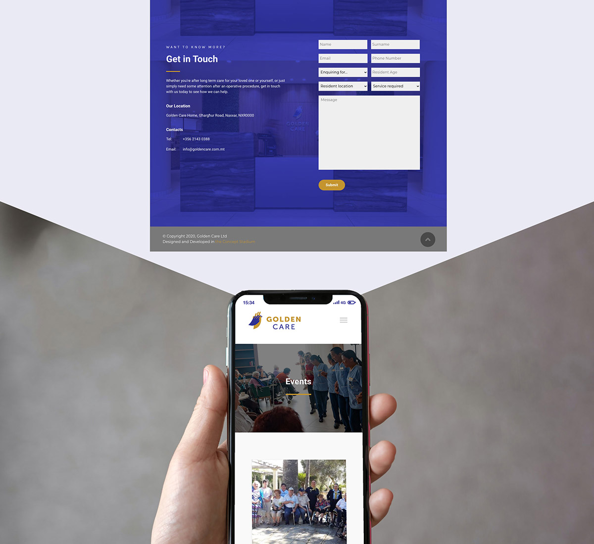 Golden-Care---Behance_05 case study